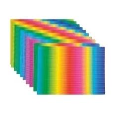 """3D tektūrinio popieriaus rinkinys """"Vaivorykštė"""", BM 113020"""