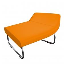 45 laipsniu kampu lenkta modulinė sofa be atlošo Nr.1 BM 834031