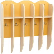 5 vietų rankšluostinė, oranžinė GM 099169