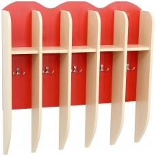 5 vietų rankšluostinė, raudona GM 099168