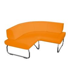 90 laipsniu kampu lenkta modulinė sofa su atlošu Nr.2 BM 834066