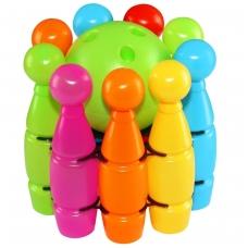 """9 kėglių rinkinys krepšelyje """"MAXI"""""""