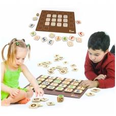 Magnetinis atminties lavinimo ir abėcėlės mokymosi žaidimas