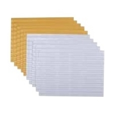 Auksinio ir sidabrinio 3D tektūrinio popieriaus rinkinys, BM 113021