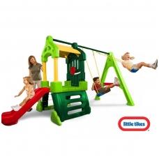 Didelė vaikiška plastikinė žaidimų aikštelė 171093