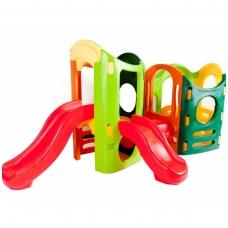 Didelė vaikiška plastikinė žaidimų aikštelė 440W