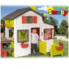 Didelis plastikinis vaikiškas namelis 310209