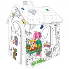 Didelis vaikiškas spalvinimo namelis NS 11122A