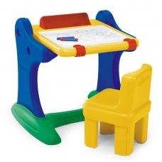 Edukacinis vaikiškas staliukas su kėdute rašymui 30401