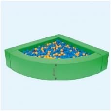 """Kampinis kamuoliukų baseinas """"Žalias"""", 4529007"""