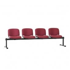 Keturvietis suolas su minkštom sedynėm