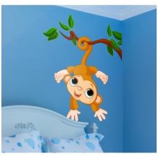 """Lipdukas sienom """"Beždžionėlė 2"""""""