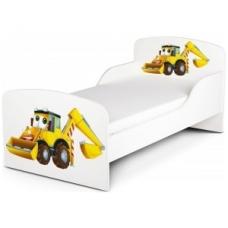 """Lovytė su čiužiniu """"Traktorius"""""""