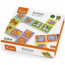 """Medinis domino žaidimas """"Zoologijos sodas"""", NS 51307"""