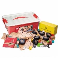Medinis konstruktorius dėžutėje, 218 elementų. NS CW3912