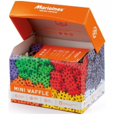 Mini vaflinių  konstrukcinių kaladėlių rinkinys, 500 elementų.