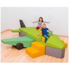"""Minkštų figūrų komplektas """"Lėktuvas"""", 4640999"""