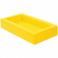 NAUJIENA. Vaikiška lovytė su čiužiniu BM 101303(geltona)