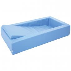 NAUJIENA. Vaikiška lovytė su čiužiniu BM 101308 (šviesiai mėlyna)