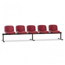 Penkiavietis suolas su minkštom sedynėm