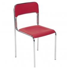 """Plastikinė kėdė """"Jumbo"""", raudona"""