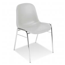 Plastikinė kėdė,   pilka.