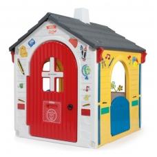 Plastikinis vaikiškas edukacinis namelis NS 20334