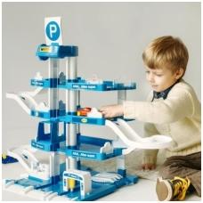 Plastikinis vaikiškas garažas NS 46093