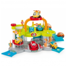 """Plastikinis vaikiškas garažas """"Vroom Planet"""" NS 120402"""