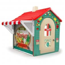 Plastikinis vaikiškas namelis- parduotuvė NS 2036