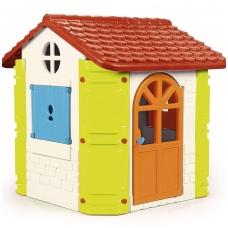 Plastikinis vaikiškas namelis su griliumi. 10248