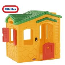 Plastikinis vaikiškas namelis su magišku skambučiu 4255