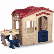 """Plastikinis vaikiškas namelis su skambučiu """"Patio"""" 170621"""