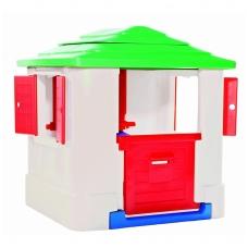 Plastikinis vaikiškas namelis su staliuku 30804