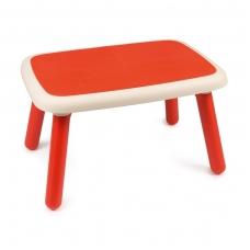 Plastikinis vaikiškas staliukas, raudonas 880400CZ
