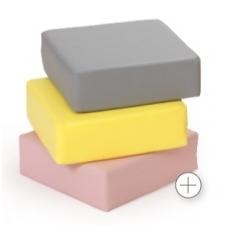 Sedėjimo pufas, pastelinių spalvų 464120+K