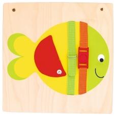 """Sensorinė - manipuliacinė priemonė """"Žuvytė"""", BM 118208"""
