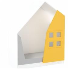 """Spintelė- slėptuvė """"Namelis"""" balta+ oranžinė 092195WBO"""