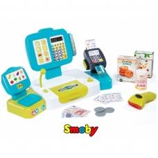 Vaikiška elektroninė kasa su atributais NS 350105
