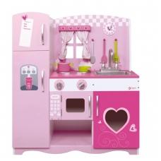 """Vaikiška medinė virtuvėlė su priedais """"Milda"""". NS CW4119"""
