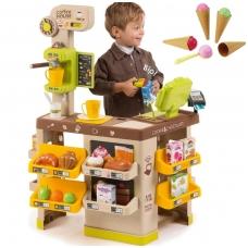 """Vaikiška parduotuvė- kavinė """"Coffee House"""" su 63 elementais NS 350214"""