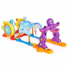 Vaikiška plastikinė žaidimų aikštelė 3 viename 638466E4C