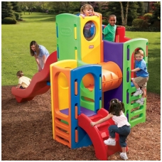 Didelė vaikiška plastikinė žaidimų aikštelė 4370