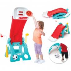 Vaikiška plastikinė žaidimų aikštelė 6 viename. 20310