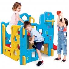 Vaikiška plastikinė žaidimų aikštelė su krepšiniu. 2036-01