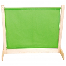 Vaikiška širma, žalios spalvos.