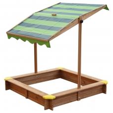 Vaikiška smėlio dėžė su reguliuojamu stogeliu. NS A031.013.00