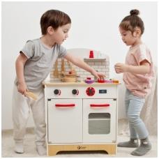 """Vaikiška virtuvėlė su priedais """"Marytė"""" NS CW4201"""