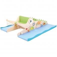 """Vaikiška žaidimų aikštelė """"Krokodilas"""""""