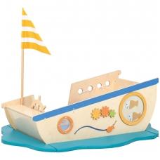 """Vaikiška žaidimų aikštelė """"Laivas"""""""